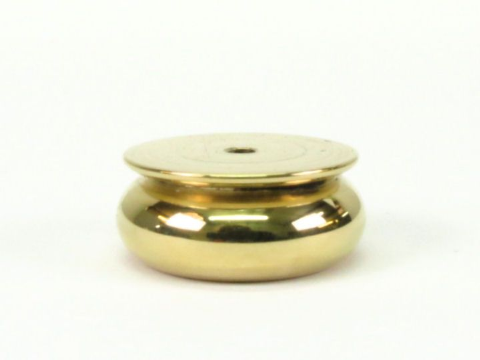 Brass Bun Foot 30mm